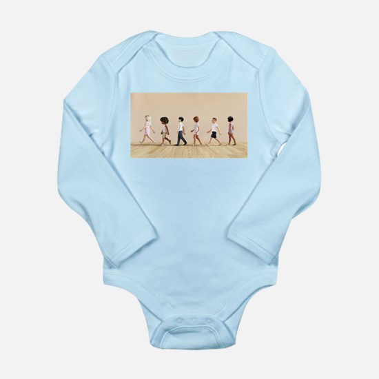 Child Development with Children Learning Body Suit