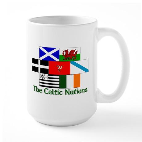 Celtic nations Large Mug