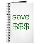 Save Dollars $$$ Journal