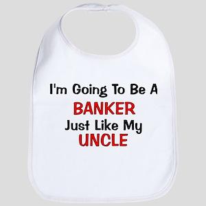Banker - Uncle - Profession Bib