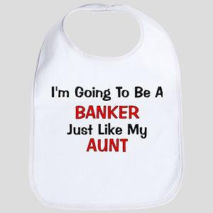 Banker - Aunt - Profession Bib
