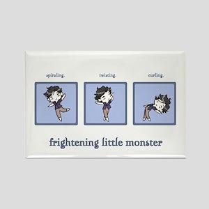 Frightening Little Monster Rectangle Magnet