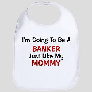 Banker - Mommy - Profession Bib