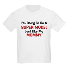 Super Model Mommy Profession T-Shirt