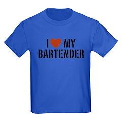 I Love My Bartender T