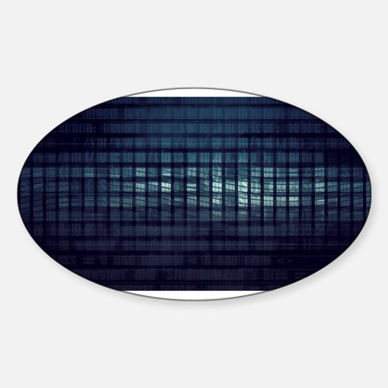 Technology Concept and Digital Data Busine Decal