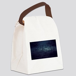 Technology Concept and Digital Da Canvas Lunch Bag