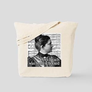 Amy Beach Tote Bag