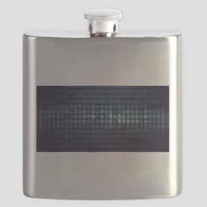 Technology Concept and Digital Data Business Flask