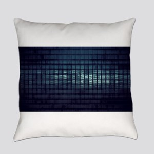 Technology Concept and Digital Dat Everyday Pillow