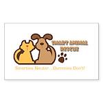 Smart Petz Animal Rescue Rectangle Sticker 50 pk)