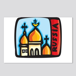 Russia Design Postcards (Package of 8)