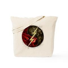 Lightning, Smoke and Flames! Tote Bag
