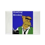 Howling Monkey Rectangle Magnet (10 pack)