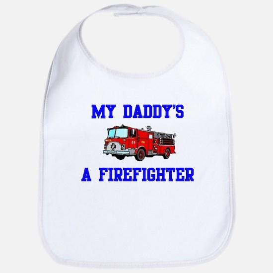 My Daddy's A Firefighter Bib