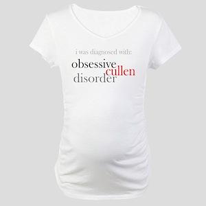 Obsessive Cullen Disorder Maternity T-Shirt