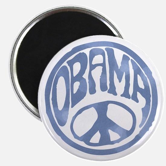 """Obama - 60's Stamp 2.25"""" Magnet (100 pack)"""