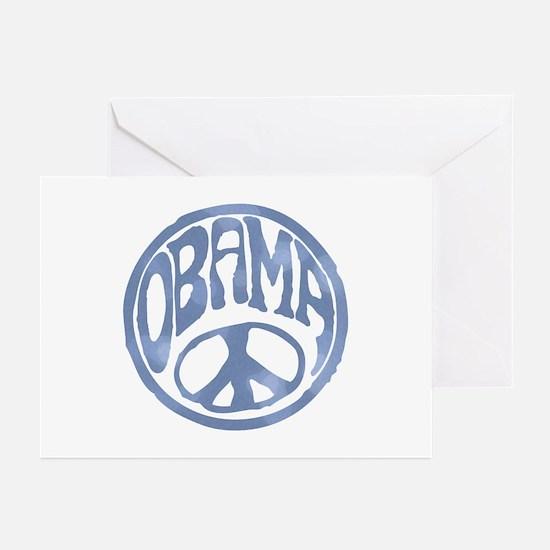 Obama - 60's Stamp Greeting Cards (Pk of 10)