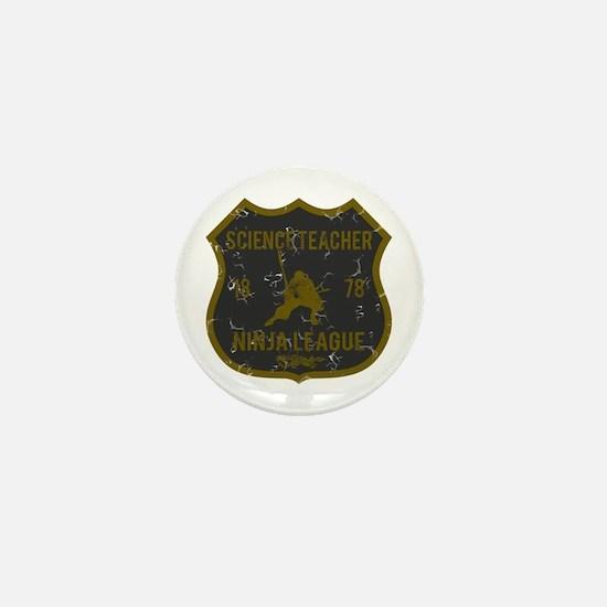 Science Teacher Ninja League Mini Button