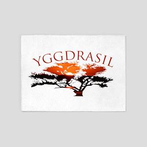 Yggdrasil- The tree of life 5'x7'Area Rug
