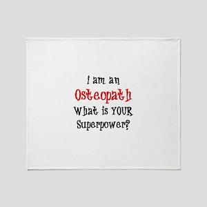 osteopath Throw Blanket