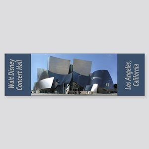 Disney Concert Hall Bumper Sticker