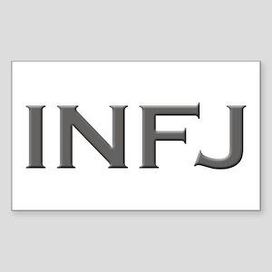INFJ Rectangle Sticker