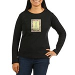 Outer Vision Women's Long Sleeve Dark T-Shirt