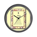 Outer Vision Wall Clock
