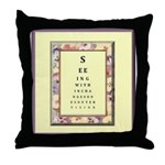 Outer Vision Throw Pillow