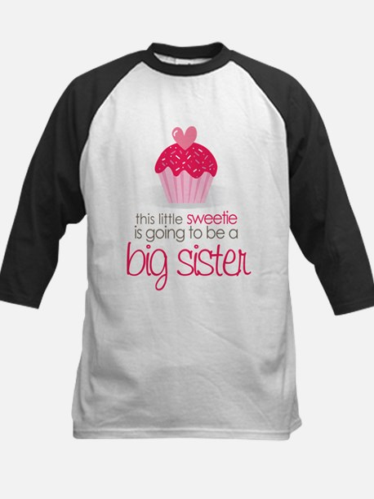 sweetie big sister shirt Kids Baseball Jersey