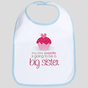 sweetie big sister shirt Bib
