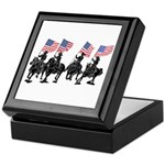 Rodeo Flag Team Keepsake Box