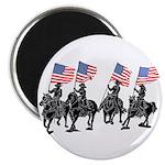 Rodeo Flag Team Magnet
