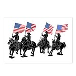 Rodeo Flag Team Postcards (Package of 8)