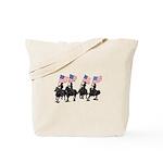 Rodeo Flag Team Tote Bag