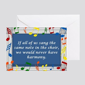 Harmony Greeting Card