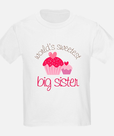 world's sweetest big sister T-Shirt