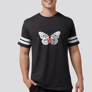 Breast cancer Awareness Butterfly Red Ribb T-Shirt
