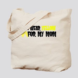 I Wear Yellow....My Mom Tote Bag