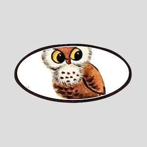 Vintage Owl Patch