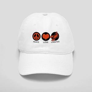 Peace Love Lobster Cap
