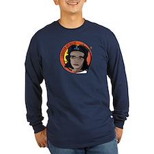 Librarian Revolution Long Sleeve Dark T-Shirt