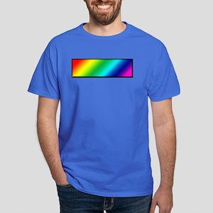 Pride Rainbow (rectangle) Dark T-Shirt
