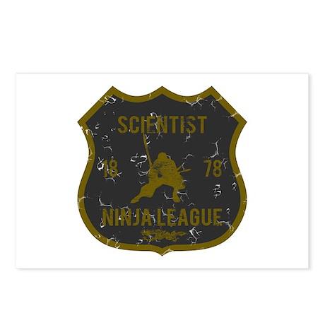 Scientist Ninja League Postcards (Package of 8)