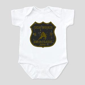 Social Worker Ninja League Infant Bodysuit