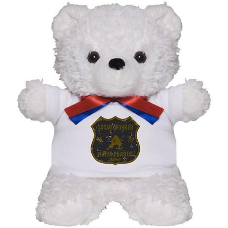 Social Worker Ninja League Teddy Bear