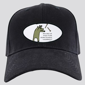 Plaid Wildebeest Black Cap
