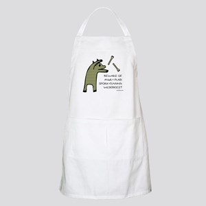 Plaid Wildebeest BBQ Apron