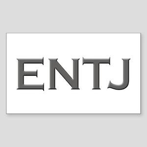 ENTJ Rectangle Sticker